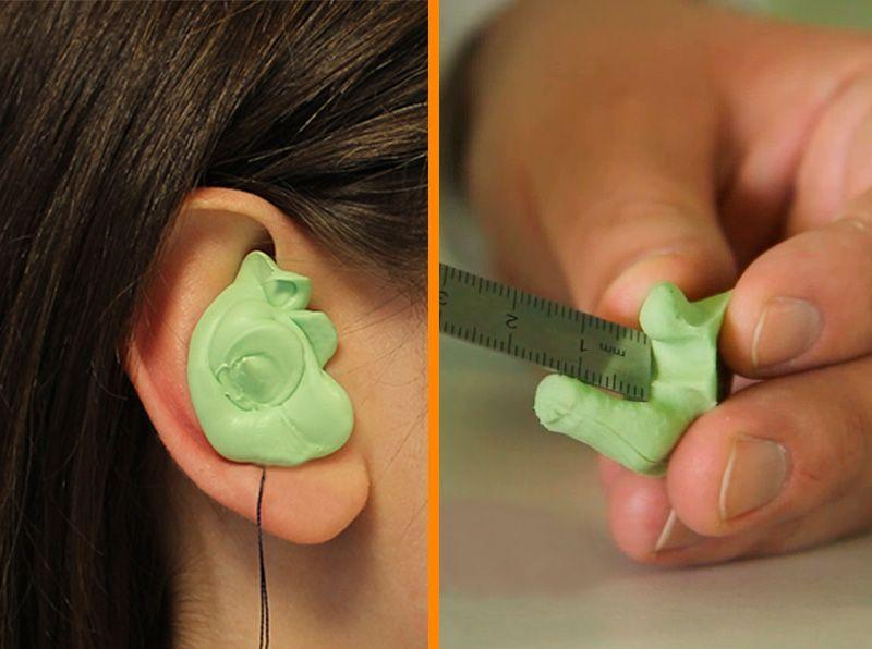 Ear mold quality control before manufacturing the best custom ear plugs