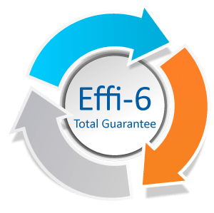 Effi-6 total guarantee