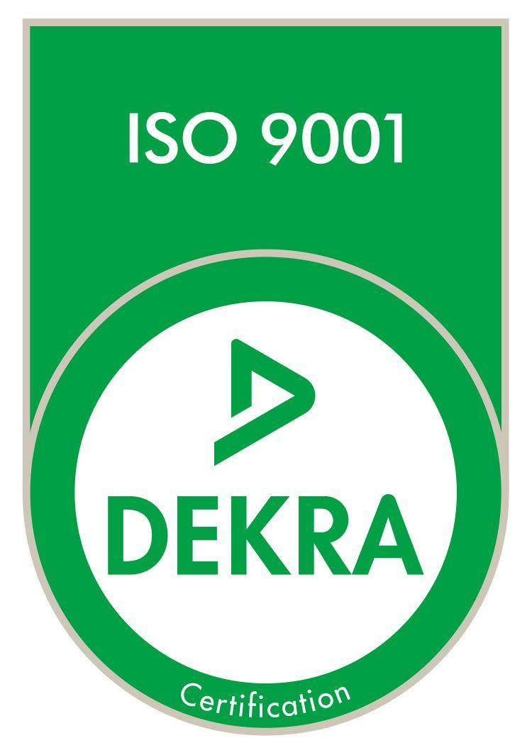 ISO 9001 Certification - DEKRA